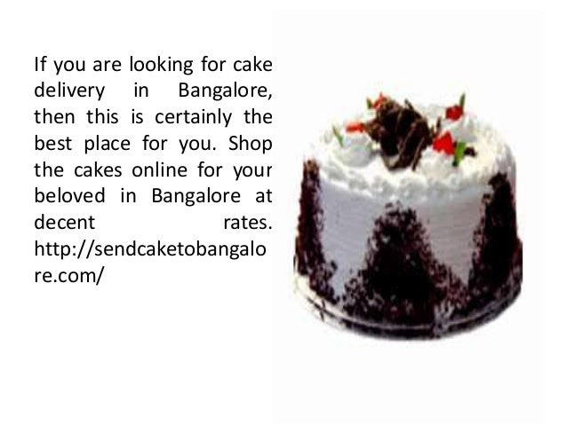 If you are looking for cake delivery in Bangalore, then this is certainly the best place for you. Shop the cakes online fo...