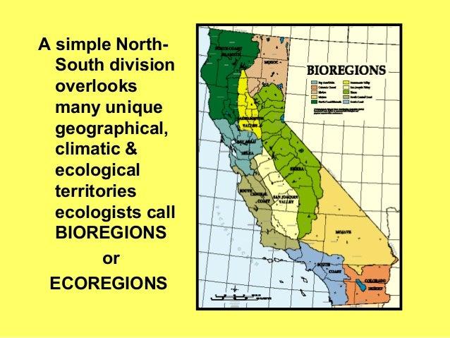 California S Bioregions A Bio Geogrphic Overview