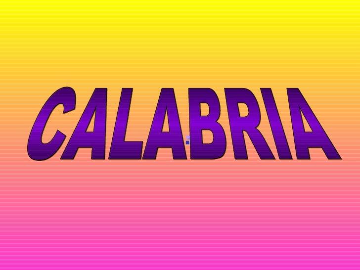 calabria CALABRIA CALABRIA