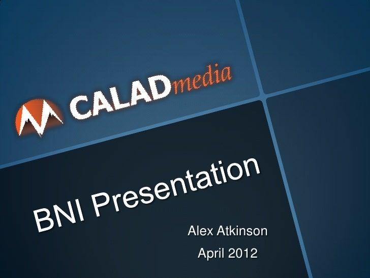 Alex Atkinson April 2012