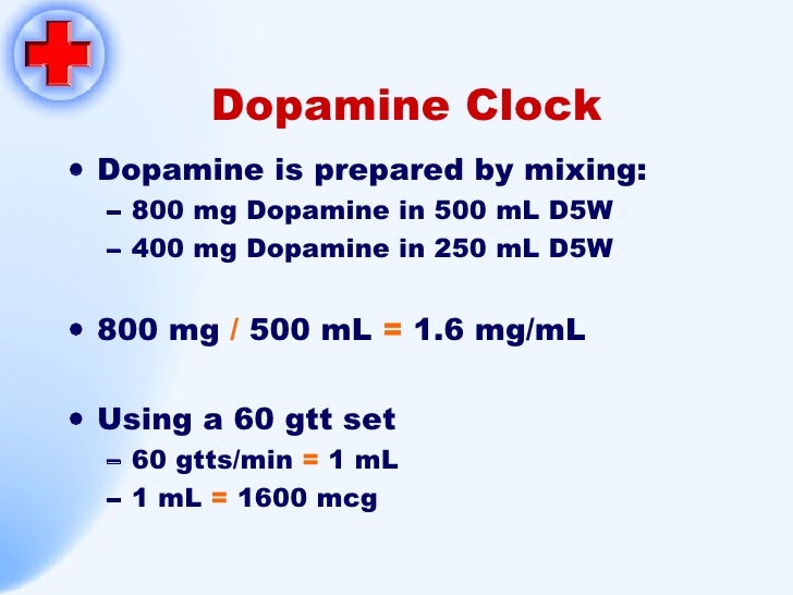 Dopamine Iv Calculation Related Keywords Suggestions