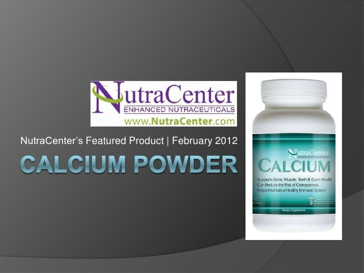 NutraCenter's Featured Product | February 2012