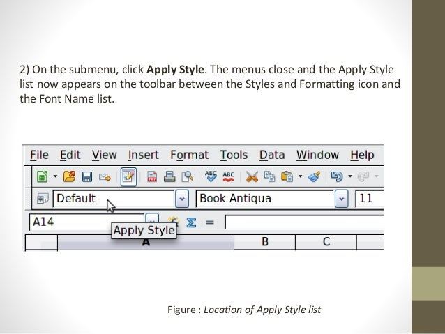 libre office calc lesson 3 working with templates styles and graphs