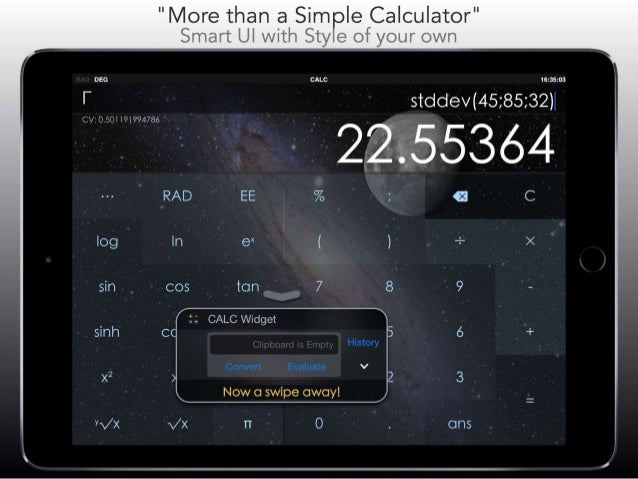 CALC Smart - Scientific Calculator & Converter +