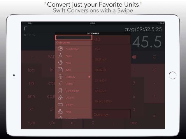 CALC Smart - Scientific Calculator & Converter + Slide 3