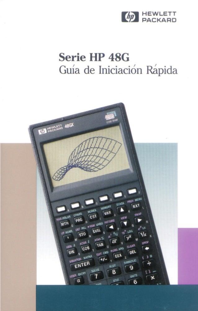 calculadora gr fica hp 48 g espa ol gu a de inicio r pido rh slideshare net Salones De Quince En Aurora Facebook En Espanol De Mexico