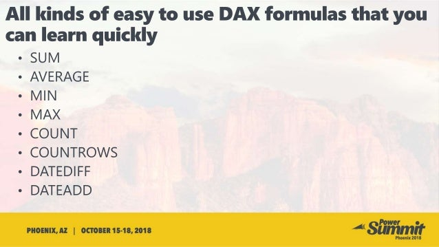 Slides for PUG 2018 - DAX CALCULATE
