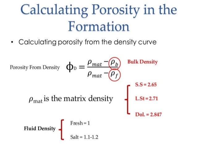 an analysis of porosity and fluid saturations The results based on this study showed that at lower saturations of displacing fluid (gas and/or water), the generated reservoir performance curves based on relative permeability data generated by using corey and wylie and gardner models, gives higher degree of deviation on comparative basis the behavior of these.