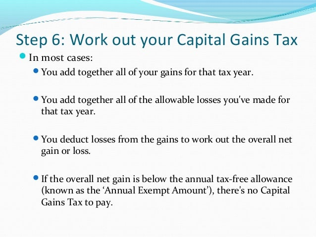 How to Reduce or Avoid Capital Gains Tax on Property or ...