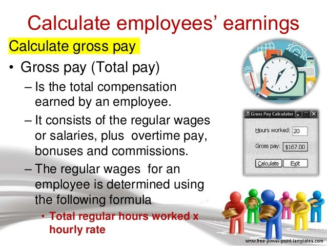 Calculating Employee Earnings For Csec