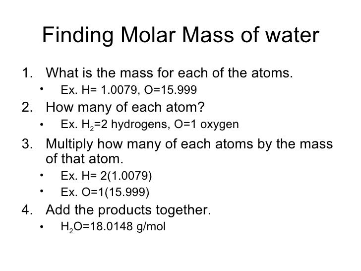 to determine the molarity of a Conversion from molarity to molality problem: find the molality of 18 m h2so4this solution has a density of 184 g/ml step 1 make.
