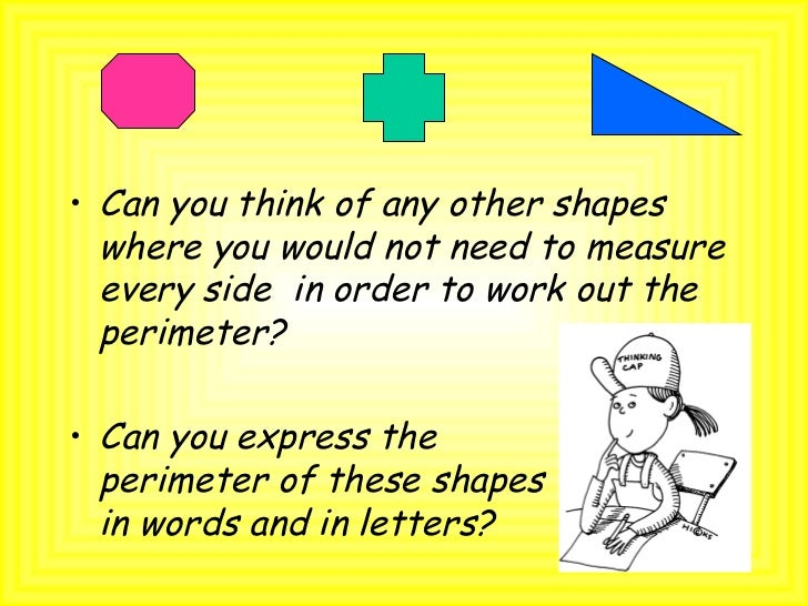 how to work out perimeter of rectangle