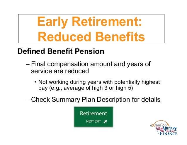Pension Basics: Defined Benefit Pension Plan Payout Formulas