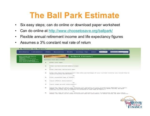 personality profiler quiz 68 the ball park estimate