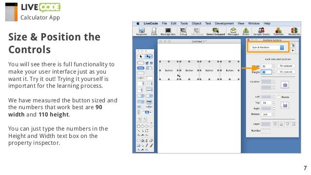 You will see there is full functionality to make your user interface just as you want it. Try it out! Trying it yourself i...
