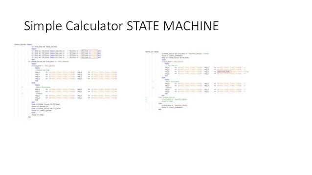 Calculator design with lcd using fpga