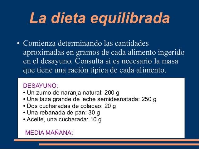 Calculo de calorias - Tabla de calorias de alimentos por cada 100 gramos ...