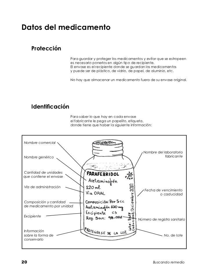Datos del medicamento     Protección                         Para guardar y proteger los medicamentos y evitar que se estr...