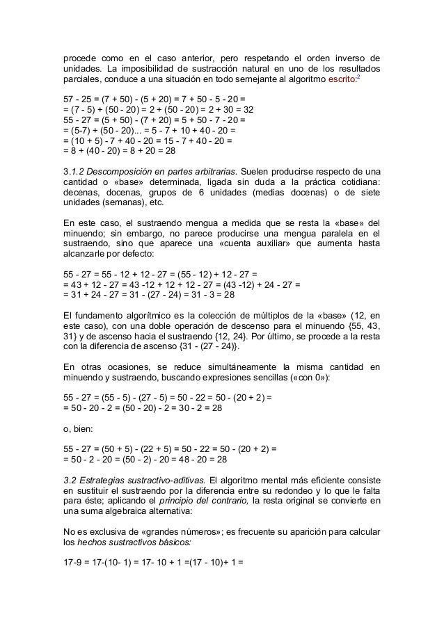Calculo mental once discapacidad visual.