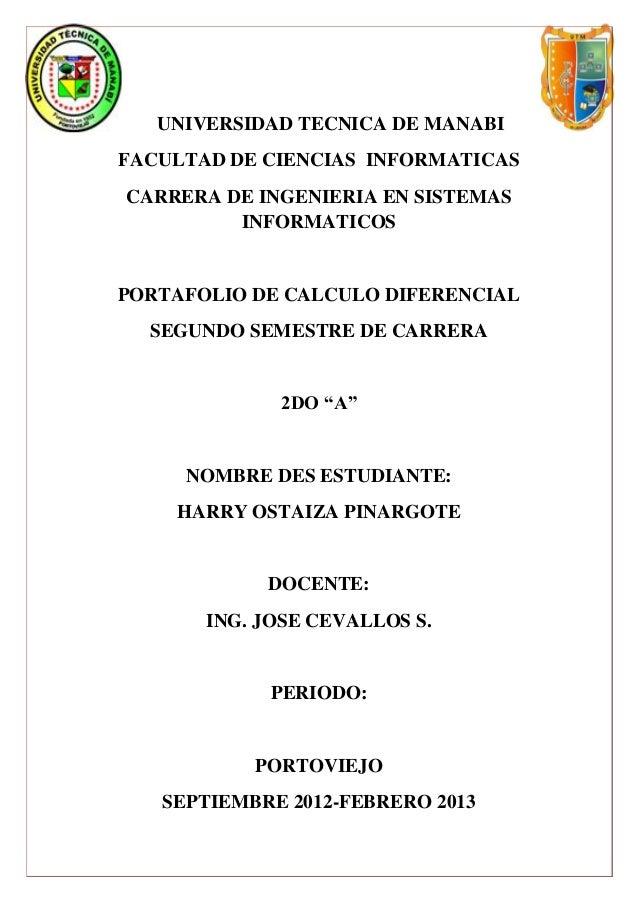 UNIVERSIDAD TECNICA DE MANABIFACULTAD DE CIENCIAS INFORMATICASCARRERA DE INGENIERIA EN SISTEMAS         INFORMATICOSPORTAF...