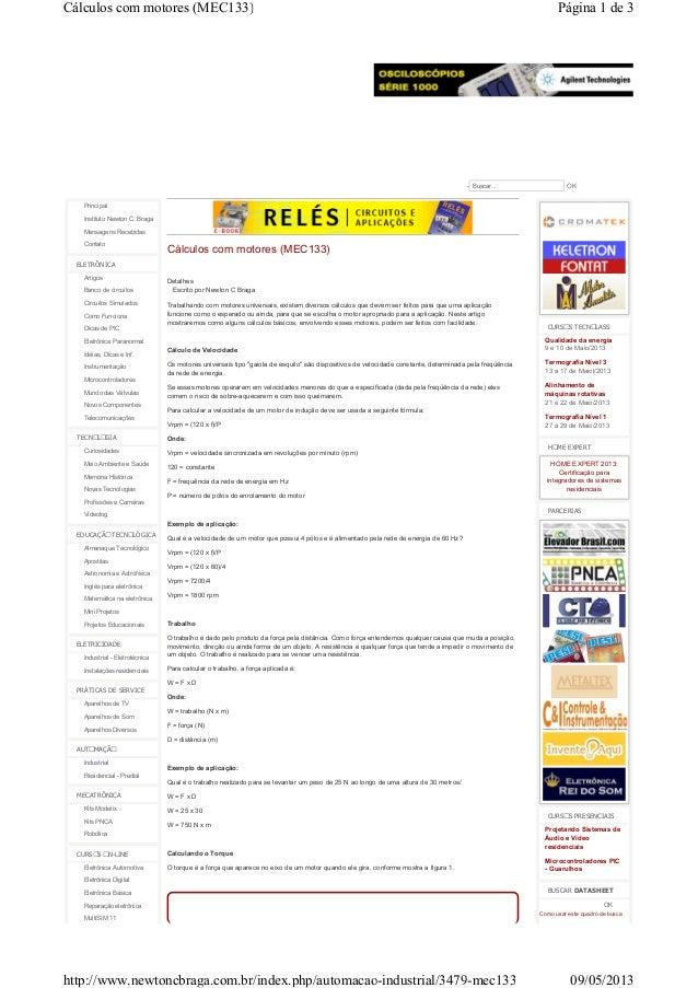 Principal Instituto Newton C. Braga Mensagens Recebidas Contato ELETRÔNICA Artigos Banco de circuitos Circuitos Simulados ...
