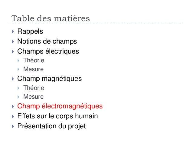 Calculs des champs elctromagncatiques - Mesure champ electromagnetique ...