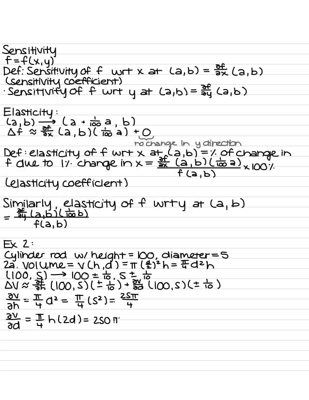 Calculus B Notes (Notre Dame)