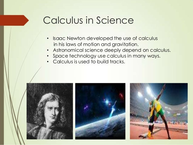 Computer Science Is To Biology What Calc By Harold: Calculus In Real Life