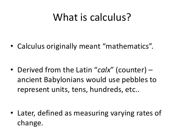 history of calculus Immediately download the history of calculus summary, chapter-by-chapter analysis, book notes, essays, quotes, character descriptions, lesson plans the history of calculus study pack contains.