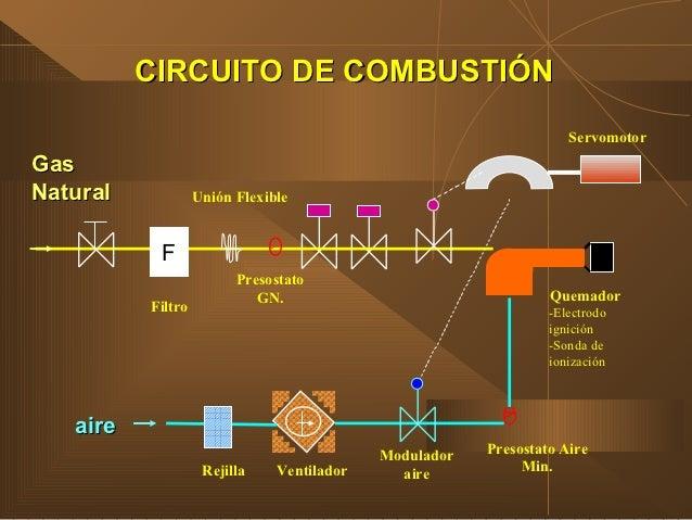 Calderas de vapor experiencias conversion a gas natural - Calderas para gas natural ...