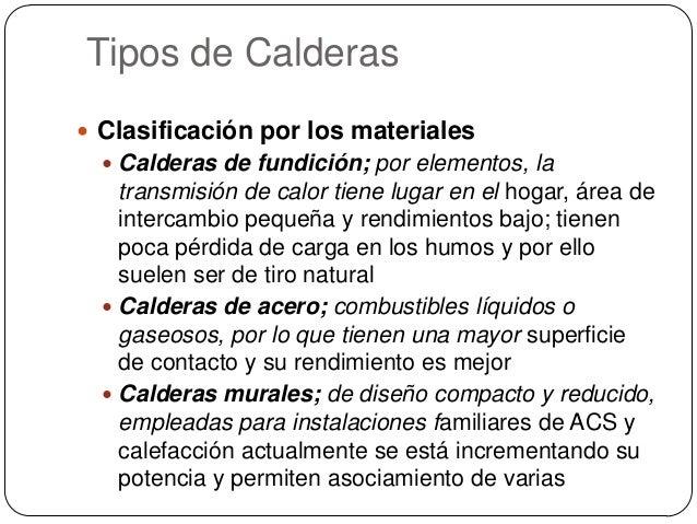 Calderas principios y componentes - Tipos de calderas de gas natural ...