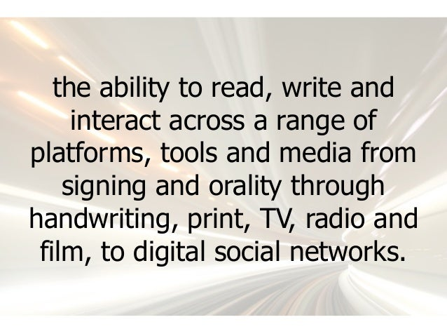 Digital Literacy: It's about more than access