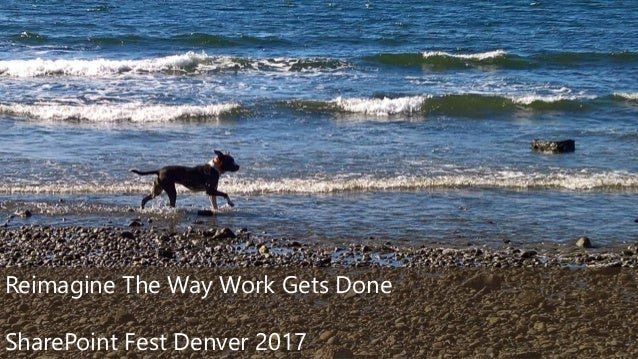 ©2017 Avanade Inc. All Rights Reserved. 1 Reimagine The Way Work Gets Done SharePoint Fest Denver 2017