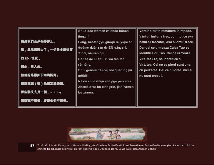 Shuō dào wǒmen zhìshǎo bǎochí                     Vorbind putin ramânem în repaos.                                        ...