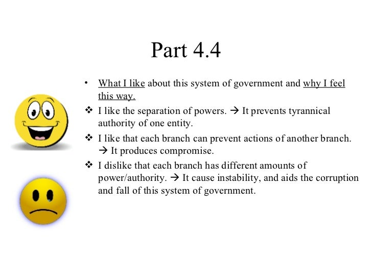 how do the three branches of government interact with one another The process you will be assigned to a team of 4-7 students and will work together to perform the following tasks 1 choose one of the three branches of government.