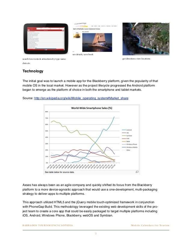 How to Build a Mobile Tourism Calendar to Market Events Slide 3