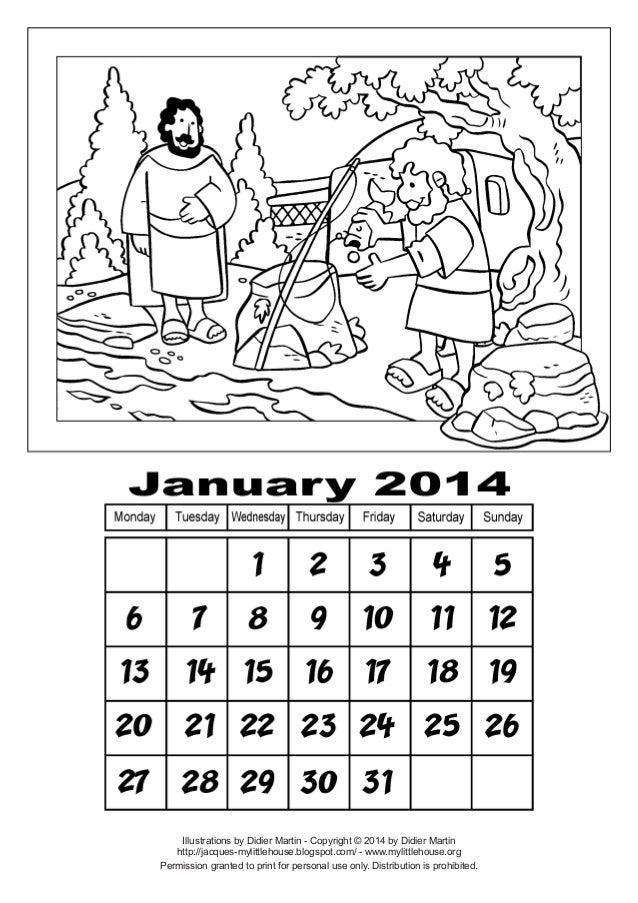 Calendar jan-2014