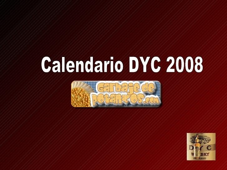 Calendario DYC 2008
