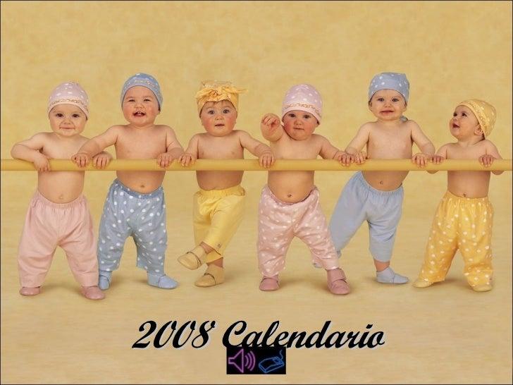 2008 Calendario