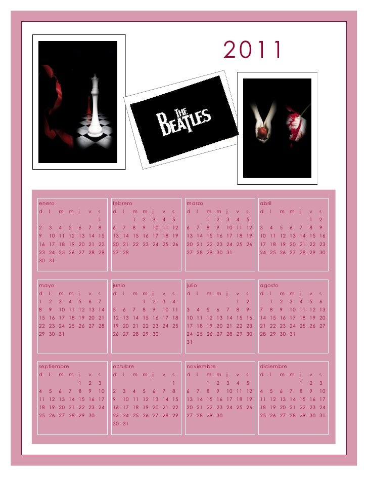 2011enero                            febrero                         marzo                          abrild l   m m j      ...