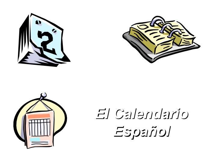 El Calendario Español