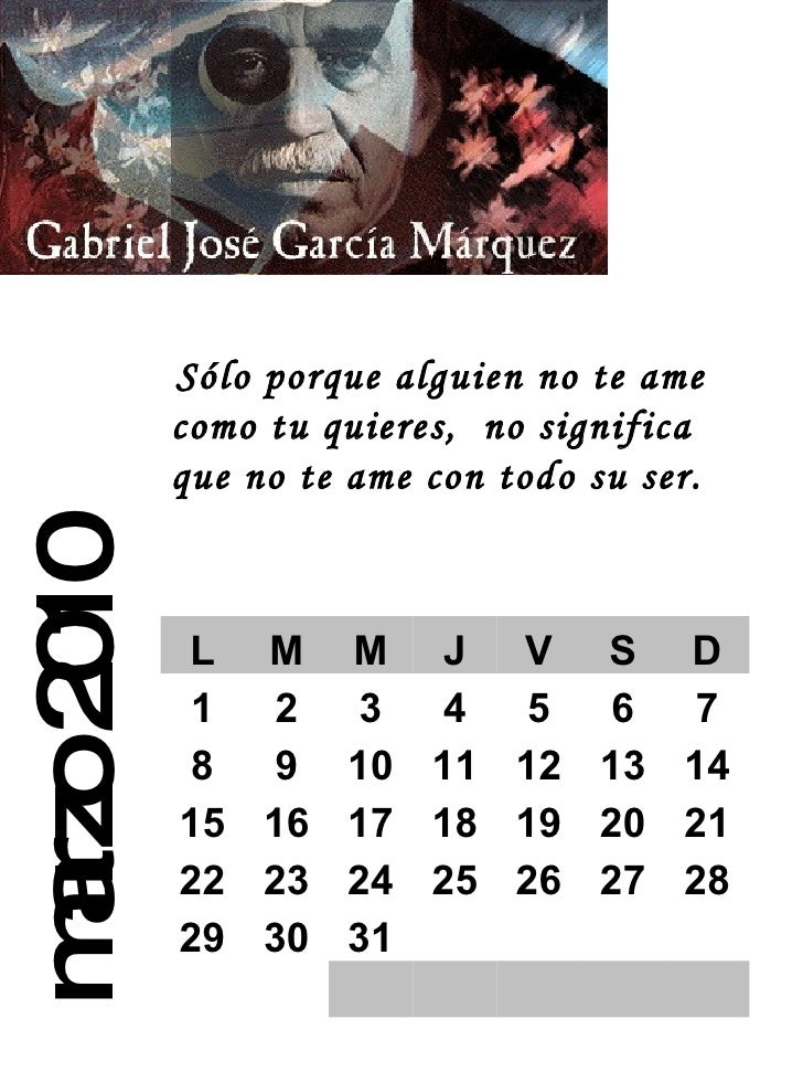 Calendario 2010 Slide 3