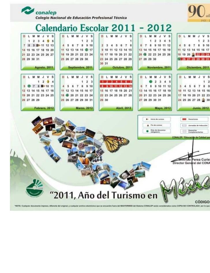 2011 Calendario.Calendario 2011 2012