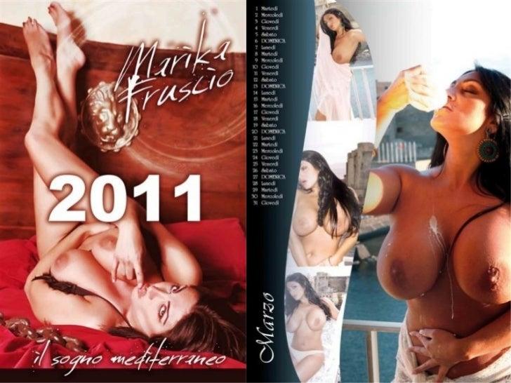 Calendario 2011 marika fruscio