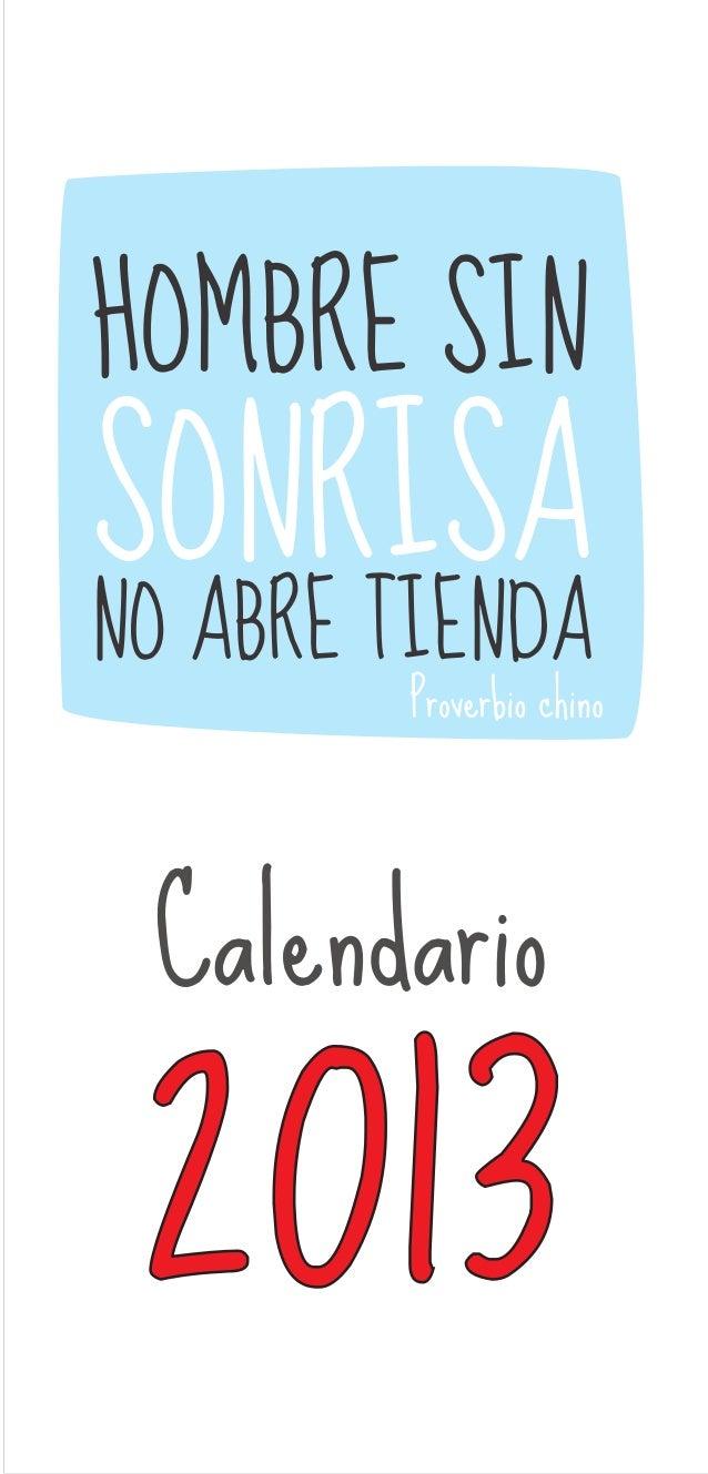 Calendario 2013 Con Frases De Motivación