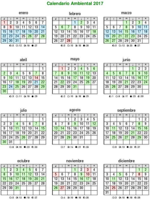 Calendario 2018 Nicaragua