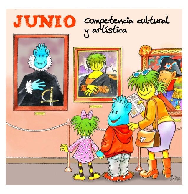 JUNIO  Competencia cultural y artística