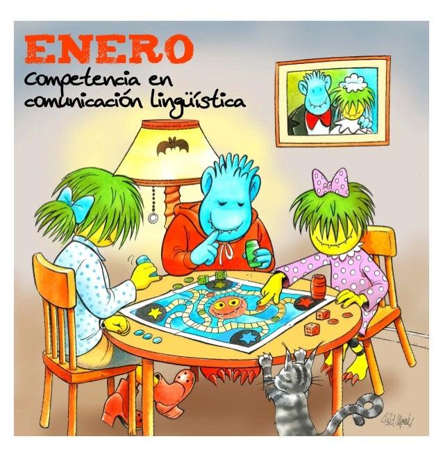 enero  Competencia en comunicación lingüística