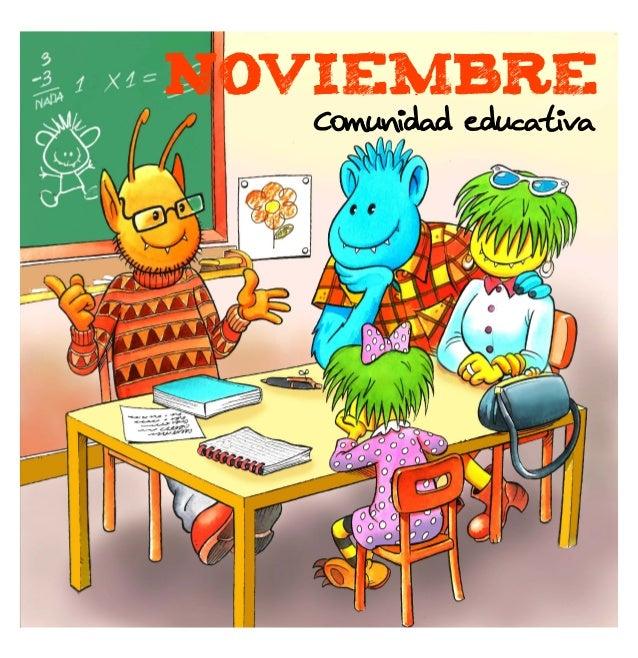 NOVIEMBRE Comunidad educativa
