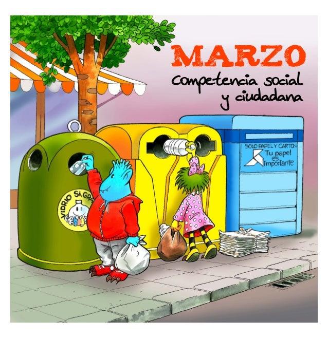 MARZO Competencia social y ciudadana
